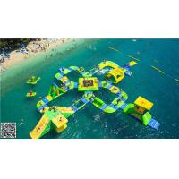 Buy cheap Floating Inflatable Water Parks / Inflatable Water Playground from wholesalers