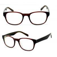 Buy cheap Square Ladies Acetate Optical Frames, Lightweight Handmade Acetate Glasses Frames from wholesalers