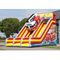 Buy cheap Comercial Double Lane  Large Inflatable Slide Double Stitching For Fun  Party from wholesalers