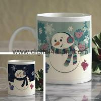 Buy cheap Christmas color-changing mugs from wholesalers