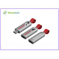 Buy cheap Executive metal USB flash drive with Full metal body with leather cord with from wholesalers