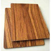 Buy cheap 2mm 3mm wooden texture Aluminum Composite Panel for ketichen cabinet door cover from wholesalers