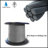 Buy cheap 6X19+FC/IWRC left lay galvanized wire rope  in drilling rig from wholesalers