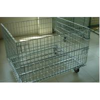 Buy cheap Wire Mesh Container with Removable Wheel from wholesalers
