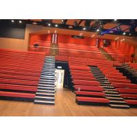 Buy cheap Customized Platform Retractable Grandstands Spectator Bench Leather / Fabric Upholstery from wholesalers