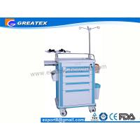 Buy cheap ABS Big Size Emergency Medical Trolleys With Draws / IV Stand (GT-TAQ203) from wholesalers