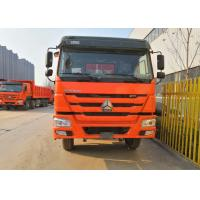 Buy cheap SINOTRUK Heavy Duty Dump Truck , 8x4 Tipper Trucks Simple And Easy Operation from wholesalers