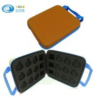 Buy cheap Cumtomized Yellow Eva Tool Case High End Badge / Medal Storage Display from wholesalers