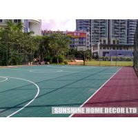 Buy cheap High Impact Copolymer Basketball Court Flooring With Suspended Athletic Surfacing from wholesalers