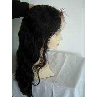 China Lace Front Wig with Invisible Hairline 130% Density Swiss Lace Wigs on sale