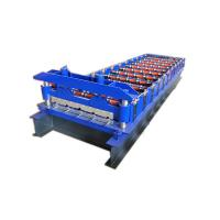 Buy cheap 0.8mm 12m Min Metal Roof Tile Sheet Wall Panel Roll Forming Machine from wholesalers