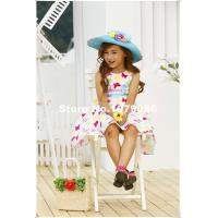 Buy cheap wholesaling bonny billy princess girl clothing 5 pieces/lot cotton vest butterfly children from wholesalers