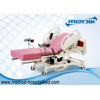 Buy cheap Remote Controller Medical Maternity Bed With Telescopic Working Table from wholesalers