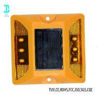 Buy cheap LED Safe Cat Eye Road Reflector Solar Dock Lights 100h After Fully Charged from wholesalers