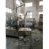 Buy cheap Touch Screen Auto Filling Machine , Automated Bottle Filler For Beverage / Non Gas Liquid from wholesalers