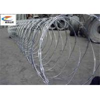 Buy cheap High Tensile Concertina  Razor Barbed Wire Coils Anti - Cutting For Military Sites from wholesalers