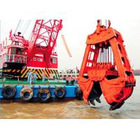 Buy cheap 10m3 Clamshell River Sand Dredger Machine With Electromagnetic Brake from wholesalers