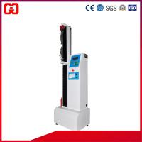 Buy cheap Single Column Button Type Tensile Strength Testing Machine from wholesalers