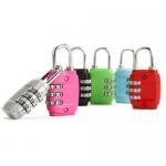 Buy cheap Zinc Alloy Mini Code Lock, Padlock from wholesalers