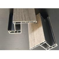 Buy cheap Compression Resistance UPVC Window Extrusion Profiles For Low Energy Houses from wholesalers