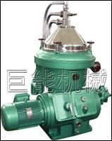 China Lubricating / Light Diesel Centrifuge Oil Water Separator Stationary Centripetal Pumps on sale