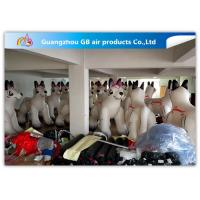 Buy cheap PVC Airtight White Inflatable Dog 2.2m High For Advertisement ODM product