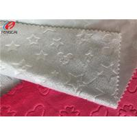 Buy cheap 3D Embossed Minky Plush Fabric Velboa Faux Fur Fabric Brushed Surface from wholesalers