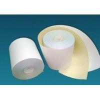 Buy cheap 2-ply Carbonless Copy Paper Rolls (CB White/CF Yellow) from wholesalers