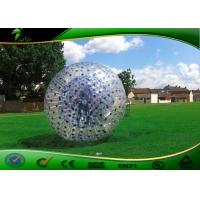 Buy cheap Outdoor Human Sized Inflatable Body Bumper Ball Soccer Dia 1.2m/1.5m/1.7m/2m from wholesalers