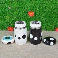Stainless Steel Color Vacuum Thermal Mug with Cup