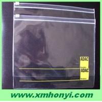 Buy cheap clear plastic document holder with zipper from wholesalers