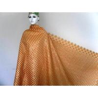 Buy cheap Yellow Africa Organza Lace Fabric , Wedding Dress Lace Fabric from wholesalers