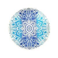 Buy cheap Personality Reactive Printing Thick Round Towel Yoga Mat And Soft Touch Surface from wholesalers