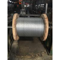 Buy cheap Durable Stranded Steel Cable With Class A Heavy Zinc Coating And Grade 1 Tensile Strength from wholesalers