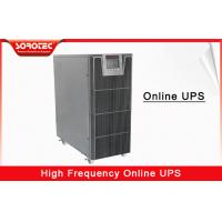 Buy cheap 1 - 20KVA UPS Pure Sine Wave Support three phase input or single phase input from wholesalers