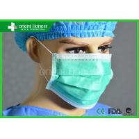Buy cheap Medical Non Woven Breathable And Light Disposable Face Masks For Hospital from wholesalers