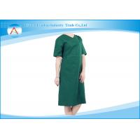 Buy cheap Short Sleeve Hospital Green Reusable Sterile Cotton Washable Surgical Gowns from wholesalers