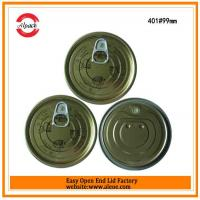 Buy cheap 401 tuna fish can lid,99mm tomato paste lid,Tinplate easy open end,Tin can lid,Meat easy open lid from wholesalers