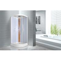 Buy cheap KPN52036 Curved Corner Shower Units , 900 x 900 x 2150mm Glass Shower Cabin from wholesalers