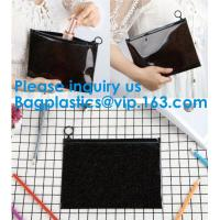 Buy cheap Frosted Plastic PVC Slider Zipper Bag,Pvc Food Grade Plastic PE Slider Zipper Bag For Frest Fruit Suit Packing Bagease from wholesalers