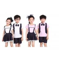 Buy cheap Summer Lapel School Uniform Embroidery Quick Dry For Primary School Students from wholesalers