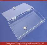 Buy cheap Lockable Acrylic Box,Clear Acrylic display Box,Acrylic Box, Perspex display boxes from wholesalers