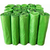 Buy cheap Green Biodegradable Kitchen Trash Bags 60 × 80 Cm Saving Natural Resources from wholesalers