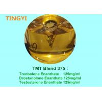 Buy cheap Yellow Mixed Liquid Injectable Anabolic Steroids TMT Blend 375 For Fat Loss from wholesalers