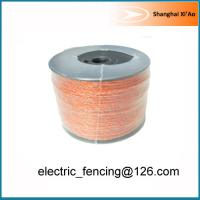 Buy cheap Orange 6 x 0.2mm stainless steel Electric fencing poly wire Jumbo polywire 250m from wholesalers