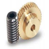 Buy cheap One Thread Steel Screw Shafts Spiral Bevel Gear Brass Worm Gears For Motors from wholesalers