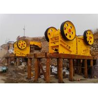 Buy cheap Stone crusher and jaw crushers for cobblestone mails in equipment yard in russia from wholesalers