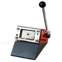 Buy cheap Manual die cutter for different sharp, smart card die-cutter,magnetic card punching machine product