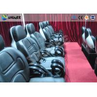 Buy cheap Small 5D movie theater Realistic action effects cinema with motion chair product