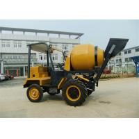 Buy cheap 1.5 tons Dumper Chassi Portable Concrete Mixers , 680L Drum Capacity Self Loading Concrete Mixture Machine from wholesalers